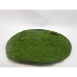 MOSS CARPET ROUND CM. 40 GREEN
