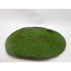 MOSS CARPET ROUND CM. 40 GREEN