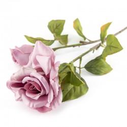 ROSE + ROSE BUD SPRAY X 2 LILLAC