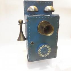 TELEFONO METALLO CM. 20X29 X47H.